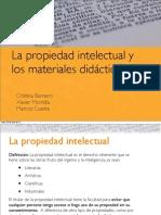 Propietat Intel·lectual Cristina Xavi Marcos