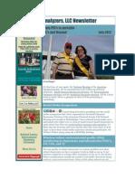 July E Newsletter 2012 PID Analyzers, LLC
