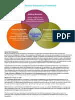 Civil Service Competency Framework July 2012