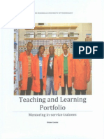 Teaching &Learning portfolio complete