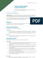 Advanced Road Design 2012.03 Readme