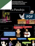 La Paradoja Ing. Gloria Rizzotto