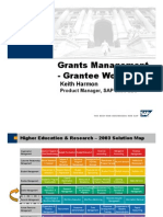 Overview Grant Mgt