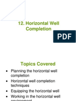 12 - Horizontal Well Completion