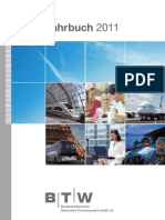 BTW-Jahrbuch 2011 - Jahrbuch der deutschen Tourismuswirtschaft