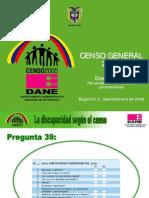 discapacidad censo 2005