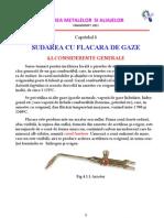 Capitolul 4_Sudarea Cu Flacara de Gaze