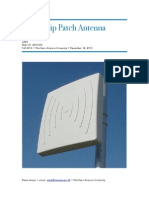 Microstrip Patch Antenna 1