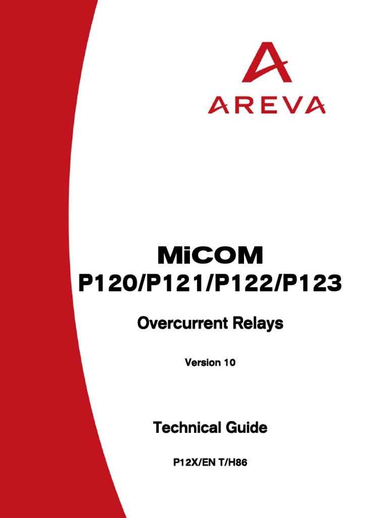 micom p122 relay electrostatic discharge rh scribd com areva micom p122 relay manual micom p122 relay manual download