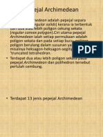 Pepejal Archimedean