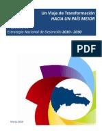 Propuesta Estrategia Nacional de Desarrollo 2010-2030 in Extenso