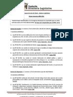 Leyes Aprobadas Directorio Legislativo