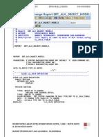 SALV Object Model Function Settings