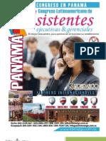 II Congreso Latinoamericano de Asistentes Ejecutivas y Secretarias(Panamá)