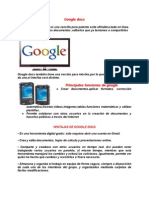 Manual de Google Docs