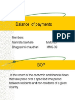 19703445 Balance of Payments Ppt
