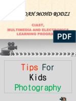 Photography Technique for a Little Photographer
