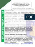 Boletin de Prensa 125