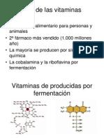 3. Produccion de Vitaminas