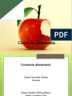 Conducta Alimentaria
