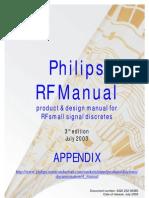 Philips Rf Manual 3rd Ed Appendix