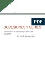 quintana-taller de sucesiones y series-craim julio 2012