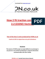 How to Fit Traction Control Z22SE