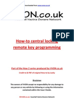 How to Program Remote