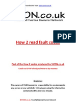 How to Read Fault Codes