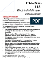 Fluke 113 Manual
