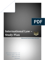 International Law - Study Plan