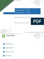 IntroDuccion Qt