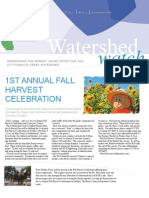 September 2009 Watershed Watch