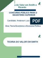A Teoria Do Valor Em Smith e Ricardo - PDF