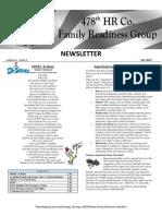 Newsletter July 2012