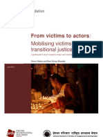 NEFAD_From Victims to Actors - Research Report