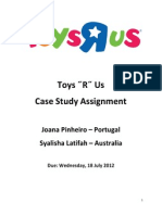 Toys ˝R˝ Us Assignment