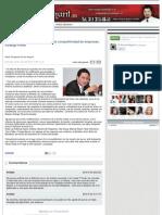 22-07-2012 Eleva Gobierno de la Gente nivel de competitividad de empresas Rodrigo Pérez