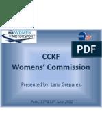 WMC Paris June 2012 CCKF Croatia