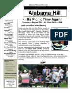 22 Jul 12 Newsletter