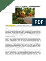 Mexican haciendas in Yucatan – Some highlights