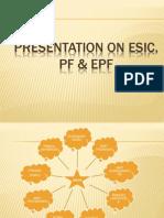 Presentation on Esic Pf Epf Final Ppt