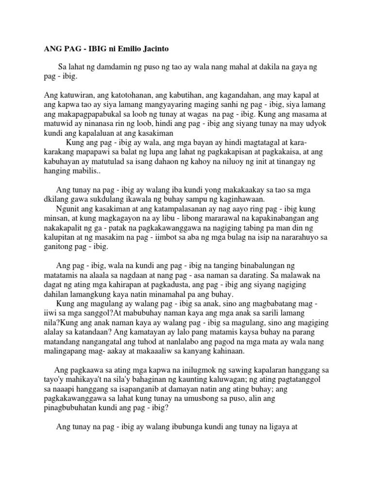 wagas na pag-ibig essay Kapag naririnig mo ba ang mga salitang wagas na pag-ibig, ano ang unang pumapasok sa isipan mo ang papalapit na valentine's day ang iyong mga magulang o ang masugid mong manliligaw.