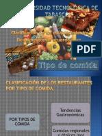 Restaurantes Por Su Tipo de Comida