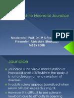 Approach to Neonatal Jaundice