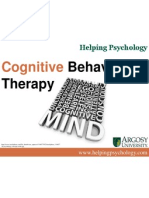 Cognitive Behavior Therapy More
