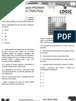 LOGIC preparatório profmat aula 5 - raciocínio lógico
