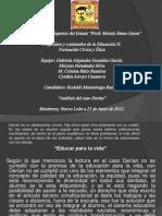 ANALISIS CASO DERÍAN
