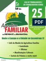 Convite Agricultura Familiar