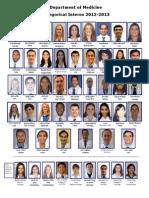 Duke Internal Medicine Residents 2012
